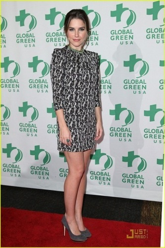 Sophia at the Global Green Awards