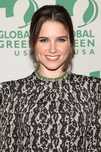 Sophia at the Global Green Awards
