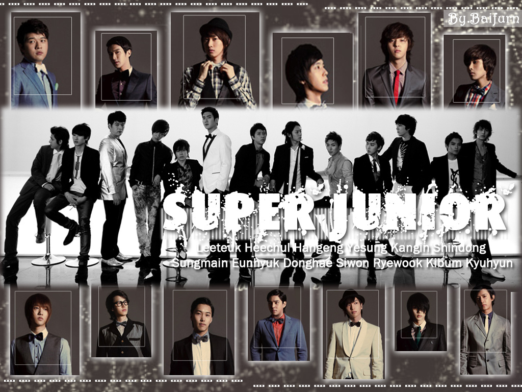 Super Junior Wallpaper  S.M.Entertainment Wallpaper 17541138