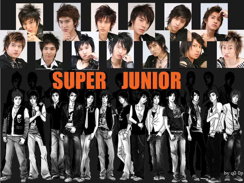 Super Junior Wallpaper  S.M.Entertainment Wallpaper 17541144