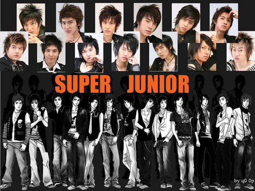 S.M.Entertainment wallpaper called Super Junior Wallpaper