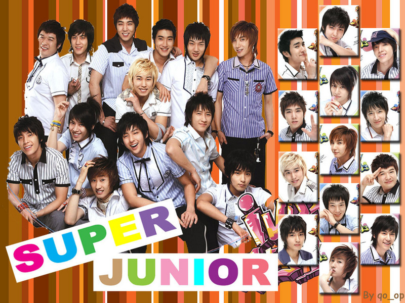 super junior wallpaper. Super Junior Wallpaper