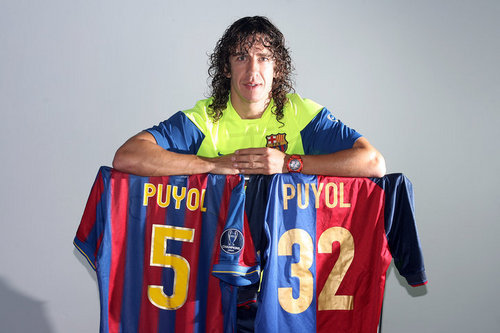 The Barça captain is 32 today. Happy Birthday Carles Puyol!