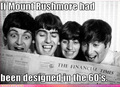 The Beatles Mount Rushmore
