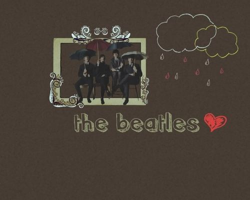 Classic Rock wallpaper containing a sign called The Beatles