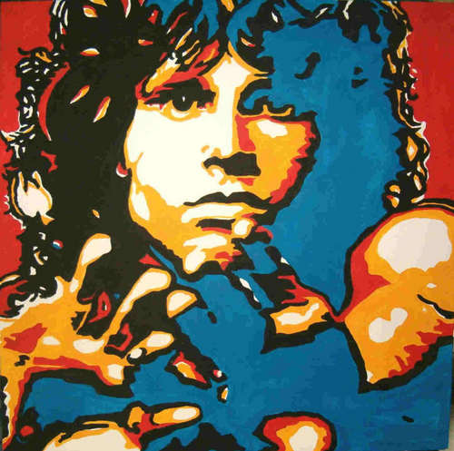 Classic Rock wallpaper possibly with anime titled Jim Morrison