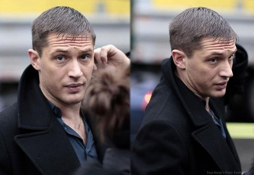 Tom on set 'This Means War'