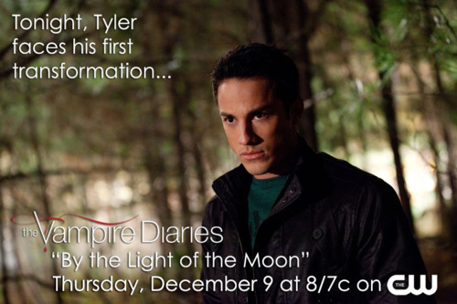 Tonight Tyler faces his first transformation.