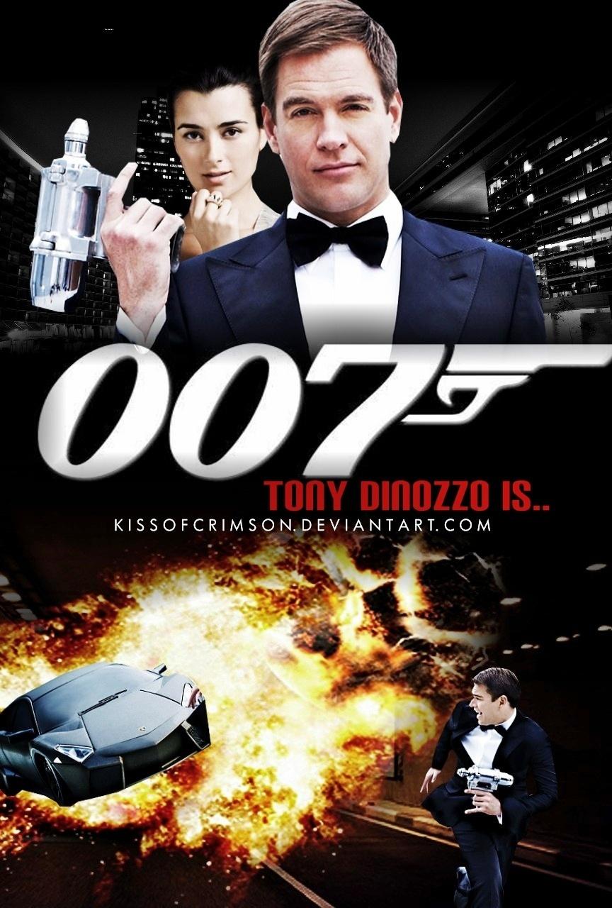 Tony DiNozzo is 007