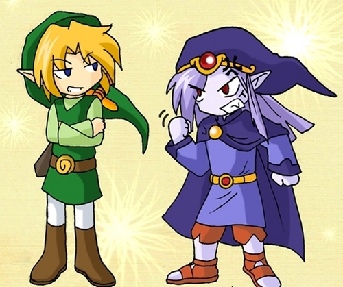 Toon Link And Vaati
