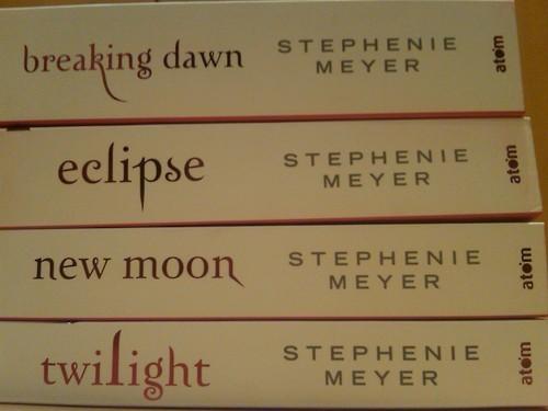 Twilight Книги
