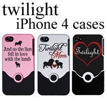 Twilight iPhone 4 cases!