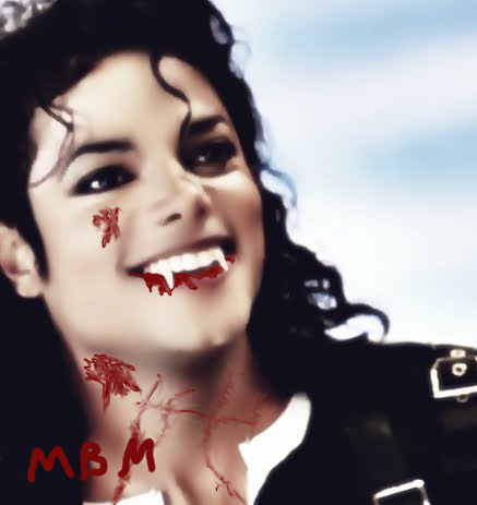 Vampire MJ made by me. <3