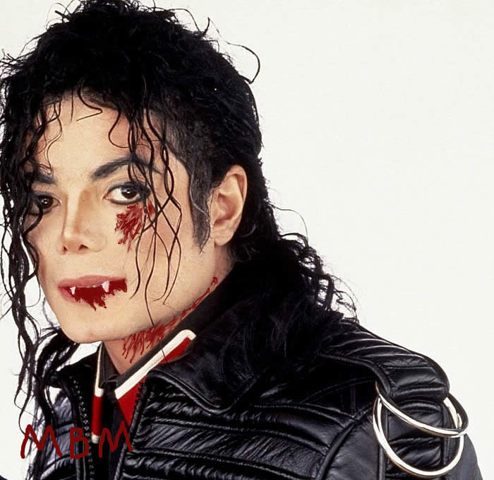 Vampire MJ made por me. <3