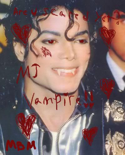 Vampire MJ made 의해 me. <3