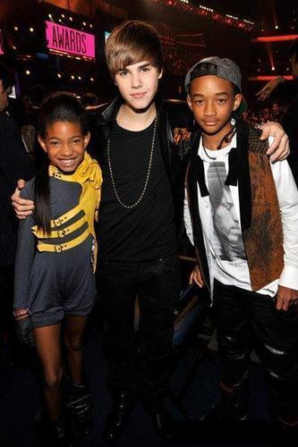 Willow, Jusitn, and Jaden