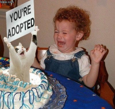 Youre Adopted! - random Photo