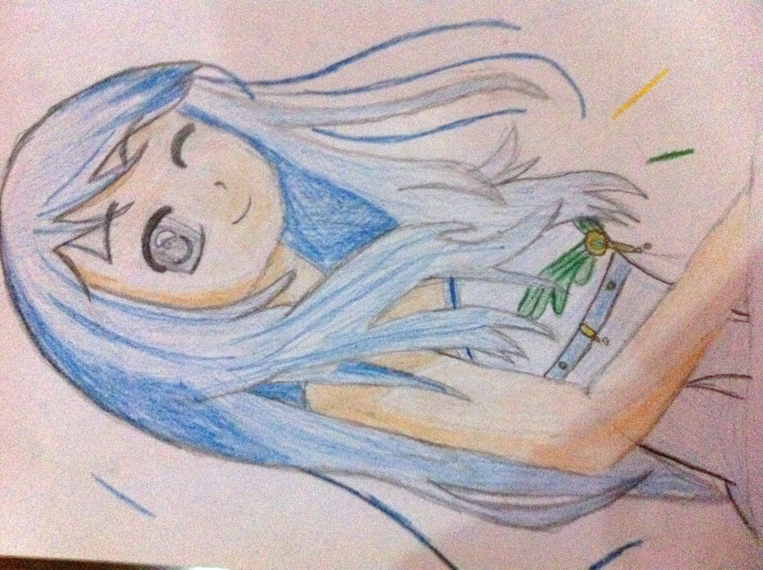 adorable girl, that i drew