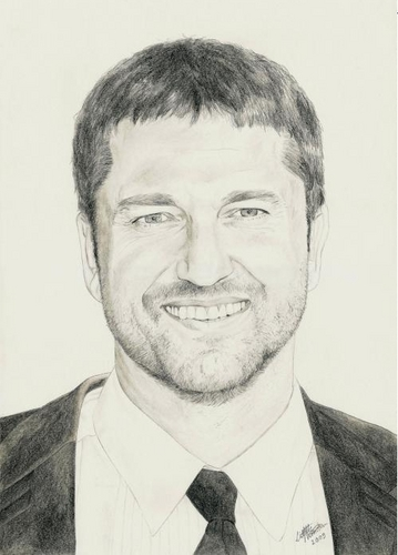 Gerard Butler wallpaper containing a business suit entitled gerry butler