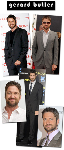 Gerard Butler wallpaper containing a business suit, a suit, and a two piece titled gerry butler