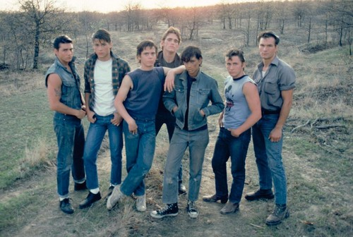What are some similarities and differences from the book the outsiders, and the movie the outsiders?