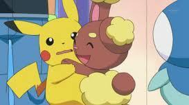 Pikachu and buneary moments