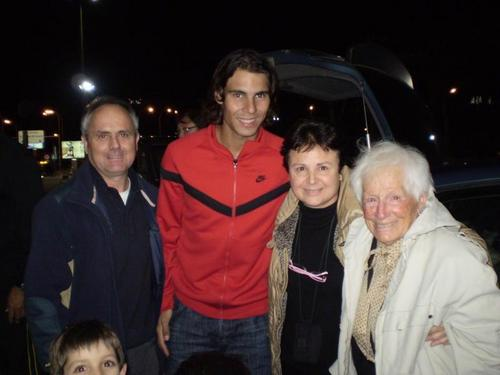 rafa nadal and his older fans!