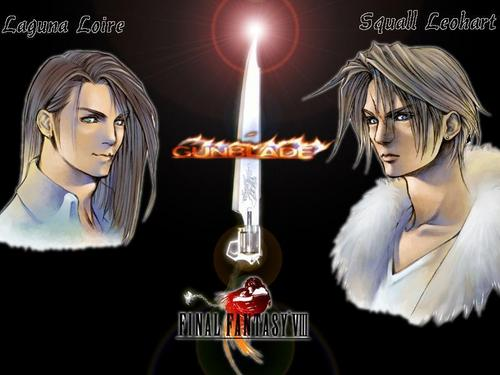 squall and Laguna