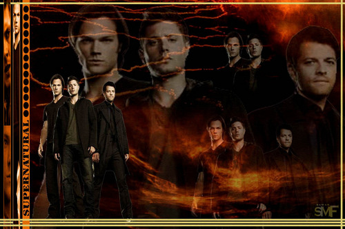 The Winchesters wallpaper with a fire titled supernatural the winchesters