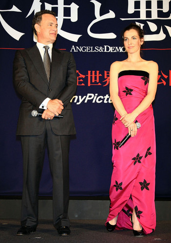 """Angels & Demons"" Japan Premiere"