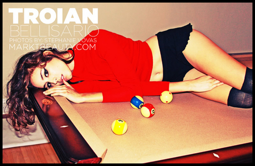 Photoshoot Stephanie Vovas (Troian Bellisario)