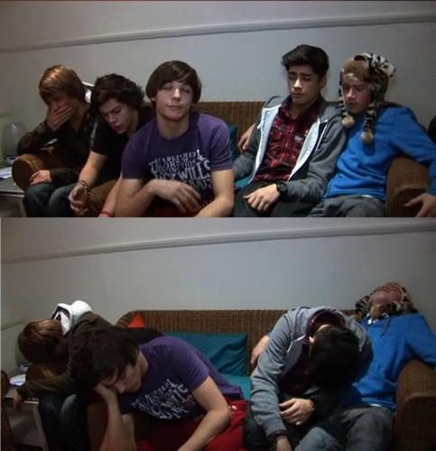 1D Looking Tired Aww (I'm Soo Proud Of Them) My True Winners :) x