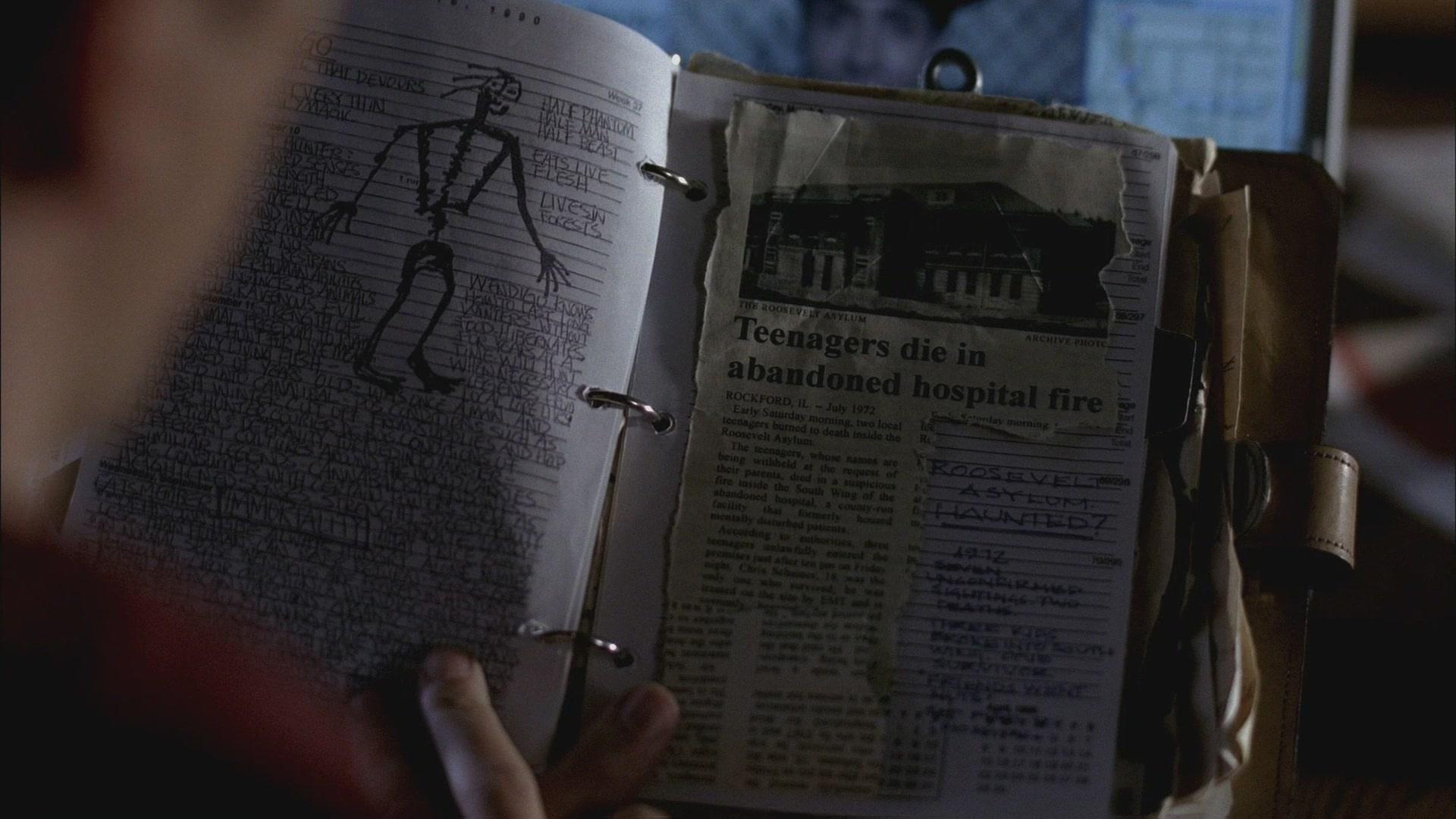 Дневник джона винчестера своими руками 47