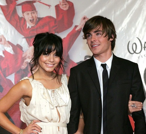 Zannessa wallpaper with a business suit entitled 2008, Zac & Vanessa