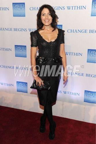 Lisa at David Lynch Foundation