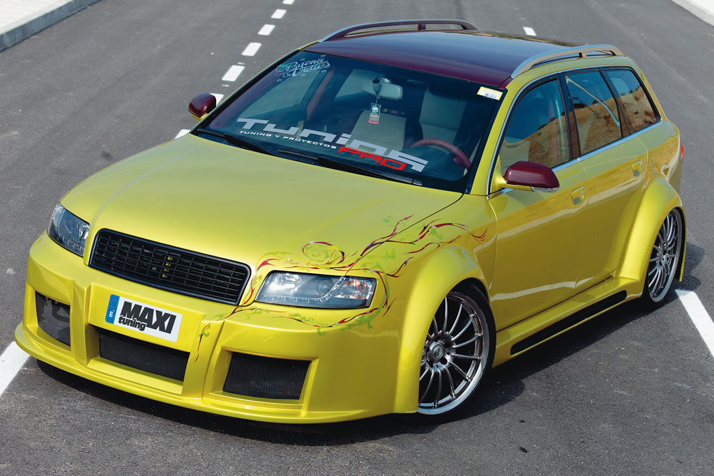 Audi Images Audi A4 Avant Tuning Hd Wallpaper And