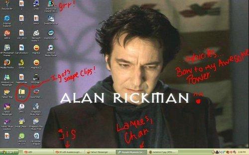 Alan Sydney Patrick Rickman - Our new Celebrity