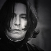 Alan as Prof. Severus Snape - kraucik83 Icon