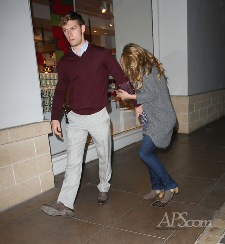 Alex & Dianna: The Grove, LA - 12 Dec