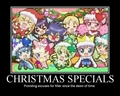 Anime Christmas Specials - jamie38459 fan art