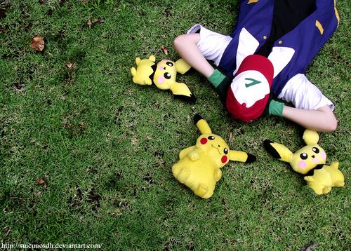 Ash Ketchum Pokemon Cosplay