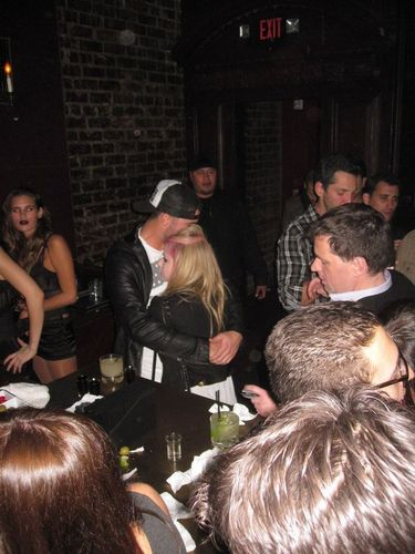 Avril and Brody Spotted At Voyeur Nightclub , LA , 10.12.2010