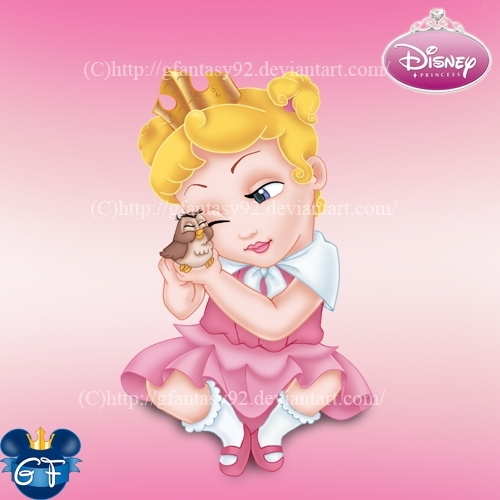 Princess Aurora achtergrond entitled Baby Princess Aurora