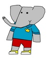 Badou - babar-the-elephant fan art