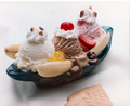 Banana Split - ice-cream photo