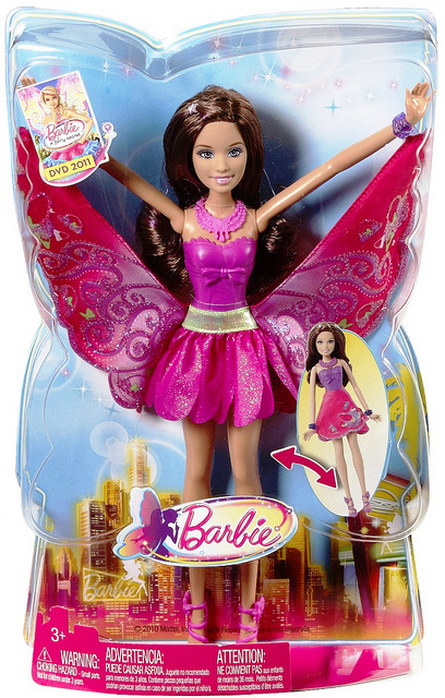 Barbie A Fairy Secret: Shoe Fairy in box - barbie-movies photo