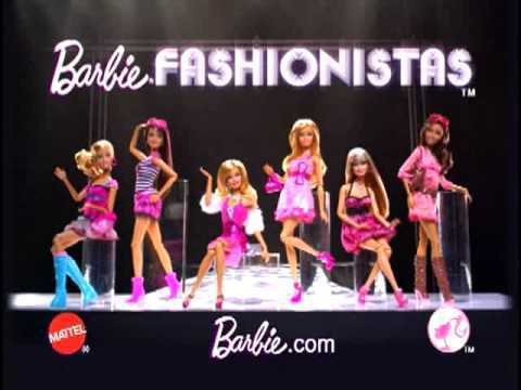 barbie Fashionistas boneka (Commercial Still)