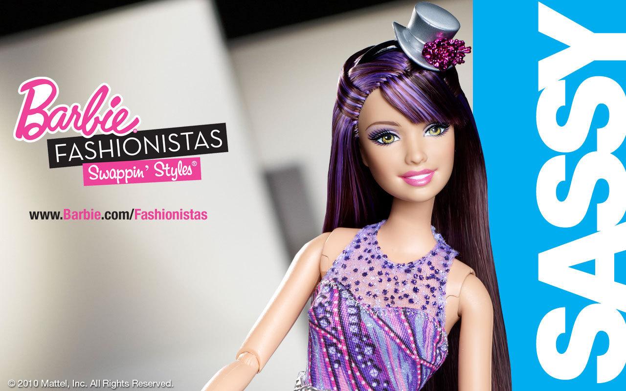 búp bê barbie Fashionistas: Swappin' Styles các hình nền