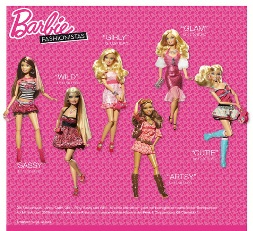 barbie Fashionistas (The First Line)