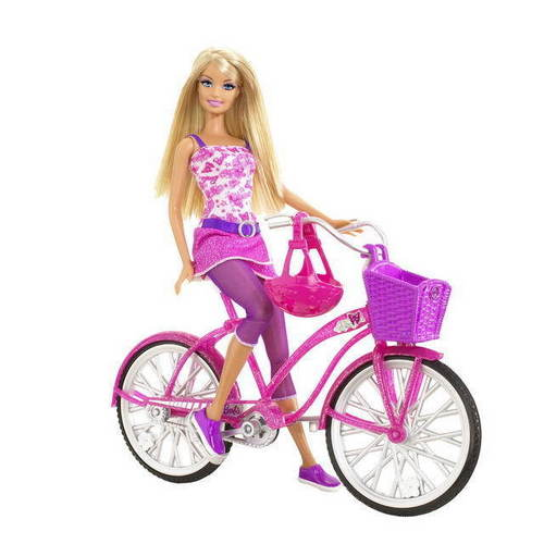 Barbie پیپر وال called Barbie bike